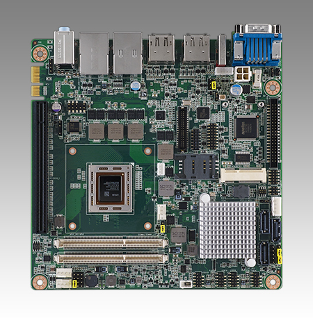 AIMB-226 PreliminaryAMD R-series Quad Core/Dual Core Mini-ITX with HDMI/LVDS/DP++, 6 COM and Dual LAN